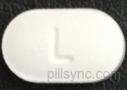 amlodipine besylate tablet  - l 29 OVAL WHITE image