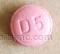 tradjenta (linagliptin) tablet, film coated  - d5 ROUND RED image