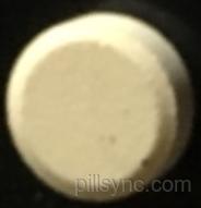 ROUND YELLOW K 65 dextroamphetamine sulfate tablet