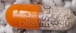 orange clear capsule ESLO 60