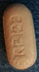 CAPSULE ORANGE RP122 Methylcellulose 500 MG Oral Tablet