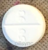 ROUND WHITE 5093 V Prednisone 10 MG Oral Tablet