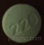 ROUND BLUE 220 Naproxen sodium 220 MG Oral Tablet