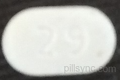 OVAL WHITE L 29 amlodipine besylate tablet