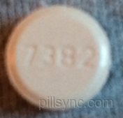 ROUND ORANGE 7382 9 3 venlafaxine 75 MG as venlafaxine hydrochloride 849 MG Oral Tablet