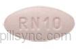 Rizatriptan Benzoate tablet - (rizatriptan benzoate 10 mg) image
