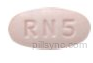 OVAL PINK RN5 rizatriptan benzoate tablet