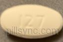 OVAL WHITE R 127 ciprofloxacin as ciprofloxacin hydrochloride 500 MG Oral Tablet