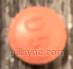 tradjenta (linagliptin) tablet, film coated  - d5 logo ROUND RED image