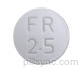 ROUND WHITE M FR 2 5 frovatriptan 25 MG Oral Tablet