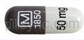 CAPSULE PURPLE M 1850 50 mg 3070 release 24 hr methylphenidate hydrochloride 30 mg extended release oral capsule