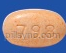OVAL ORANGE RDY 798 guaifenesin and pseudoephedrine hcl tablet extended release