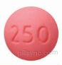 ROUND PINK TP 250 tindazole tinidazole tablet film coated tindazole tinidazole tablet film coated