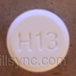 amlodipine besylate - amlodipine 10 mg oral tablet - lu h13 ROUND WHITE image
