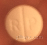 R P 5 325 ROUND WHITE - oxycodone and acetaminophen tablet  - rhodes pharmaceuticals l.p.