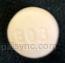 lisinopril and hydrochlorothiazide tablet  - ll b03 ROUND PINK image