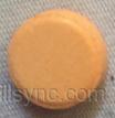 ROUND ORANGE 1 2 clonazepam tablet