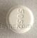 ROUND WHITE Dan Dan 5052 prednisone tablet